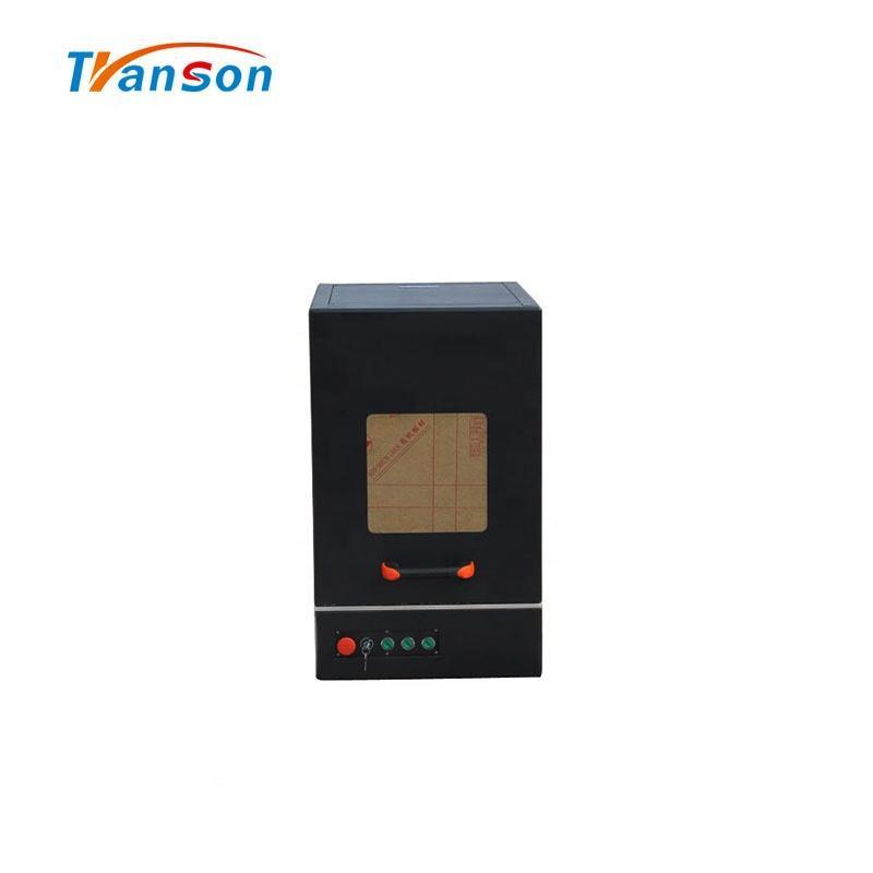 30W Jinan Good Quality Fiber Laser Marking Machine Enclose CNC Mark Cut Engraving