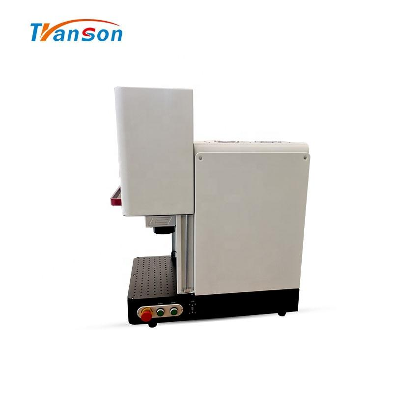 20W China Enclosed Fiber Laser Mark Machine On Metal And Nonmetal Price