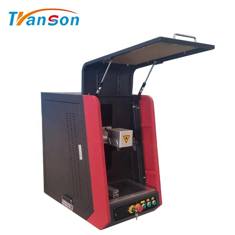 Desktop Mini 20W Marking Machine Fiber Laser Marker On Metal Nonmetal