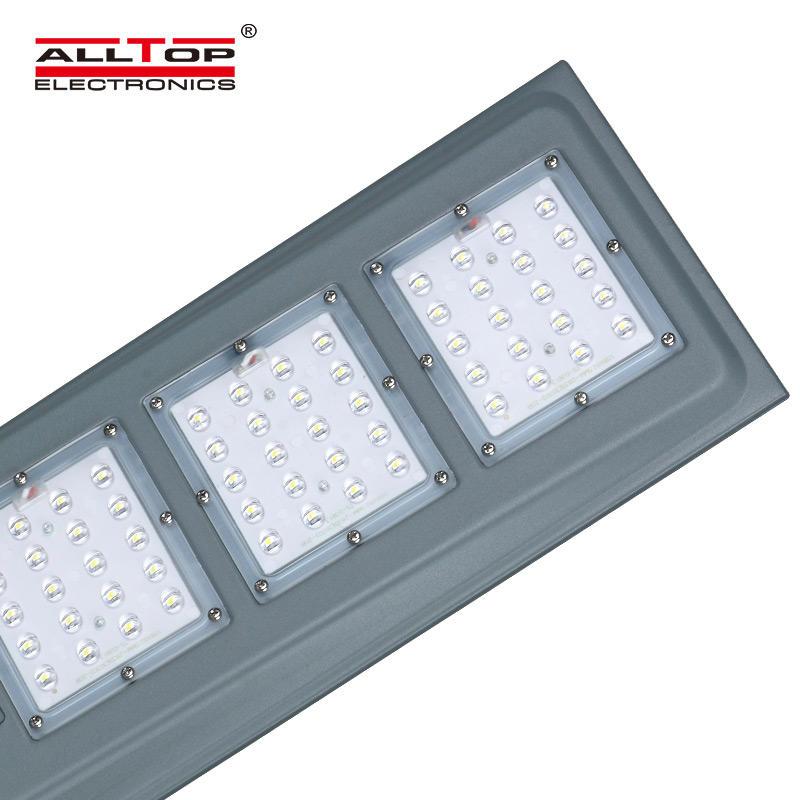ALLTOP Cheap price luminaire fixture aluminum 20 40 60 watt integrated all in one solar led Street Light
