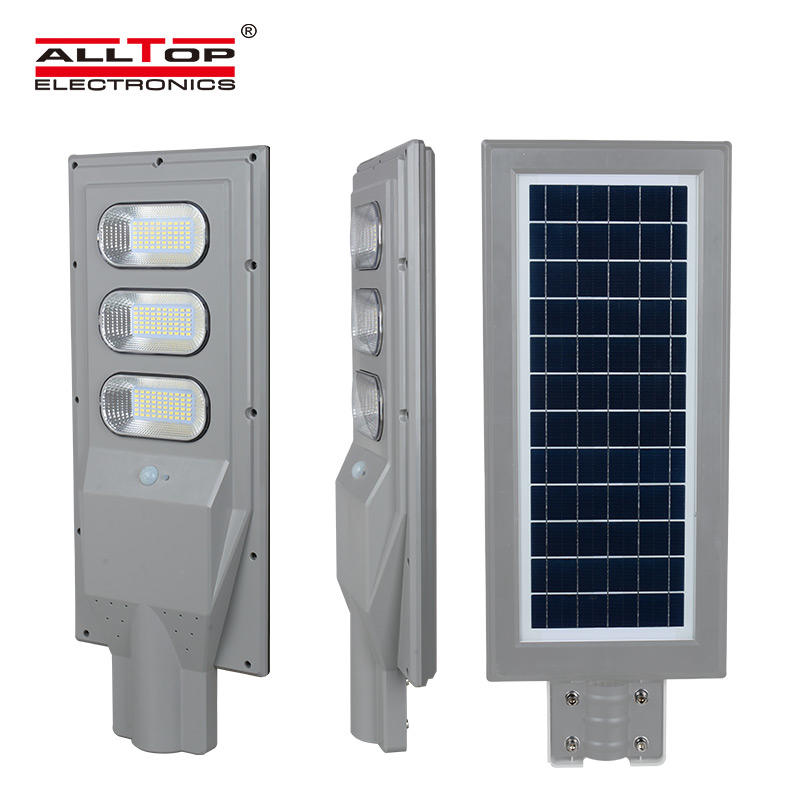 ALLTOP High performance ip65 waterproof 30w 60w 90w sensor LED Solar Street Light