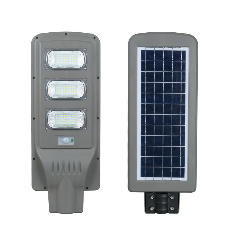 High brightness all in one solar power 30w 60w 90w outdoor garden led sola street light