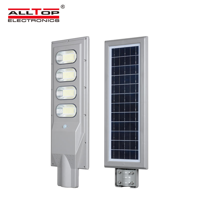 ALLTOP china suppliers led factory lighting ABS housing ip66 30w 60w 90w 120w 150w all in one solar led street light