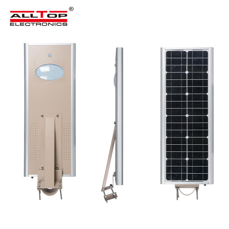 Integrated motion sensor outdoor ip65 20w 40w 60w 80w 100w 150w integrated all in one led solar street light