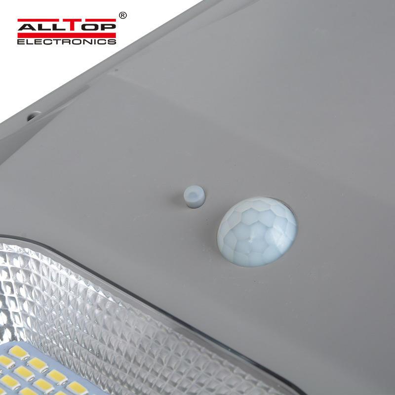 ALLTOP China factory solar energy motion sensor panel bollard light 30w 60w 90w 120w 150w all in one solar led street light