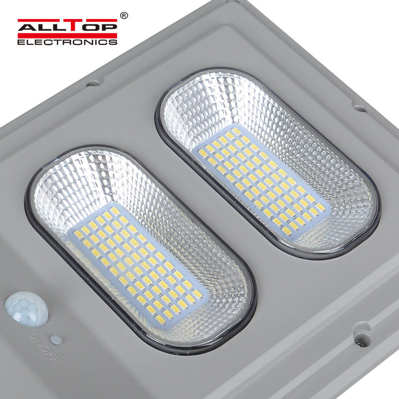 ALLTOP Bridgelux smd Outdoor waterproof IP65 30w 60w 90w 120w 150w integrated all in one solar led street lamp