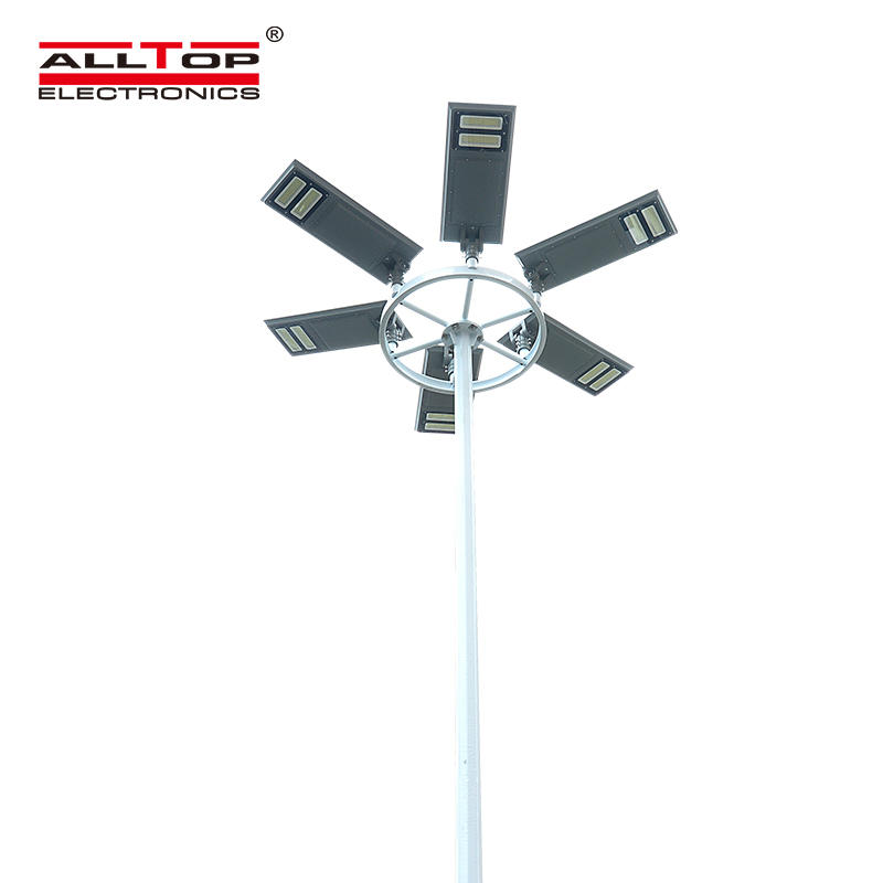 ALLTOP High power IP65 outdoor waterproof 40w 60w 100w integrated all in one led solar street light