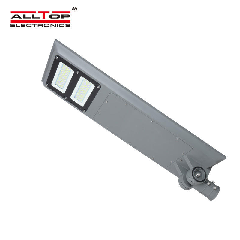 ALLTOP Factory direct outdoor waterproof ip65 solar panel powered 40w 60w 100w all in one solar led street light