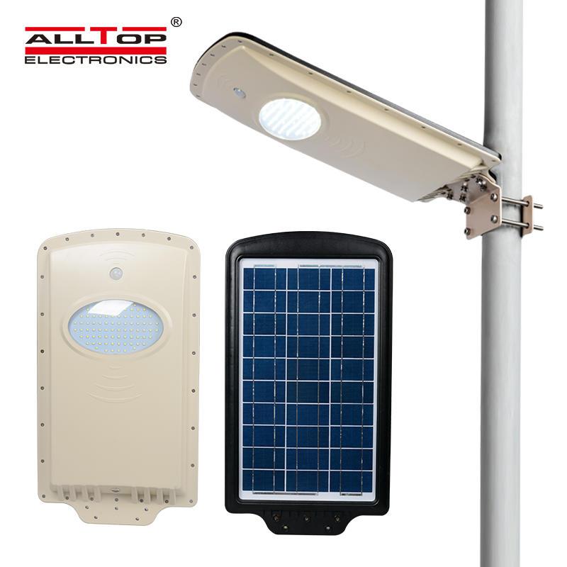 Cheap price luminaire fixture aluminum 6 12 watt solar led Street Light