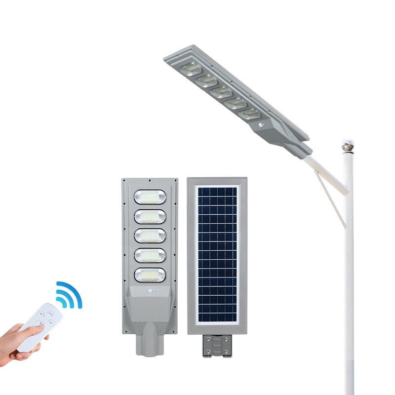ALLTOP Ip65 outdoor waterproof Bridgelux ABS smd 30w 60w 90w 120w 150w all in one led solar streetlight