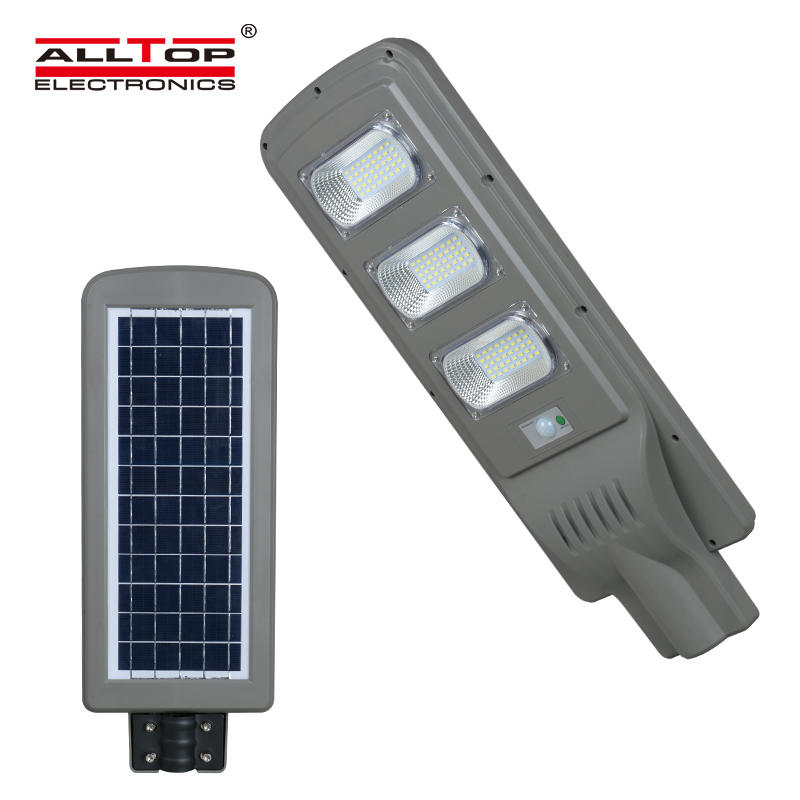 High quality 30w 60w 90w all in one Waterproof ip65 outdoor solar pv led street light price