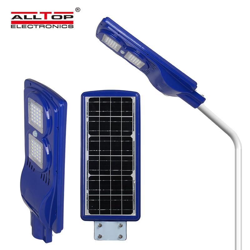 ALLTOP 25W 28W IP65 outdoor integrated motion sensor all in one solar led street light led streetlights