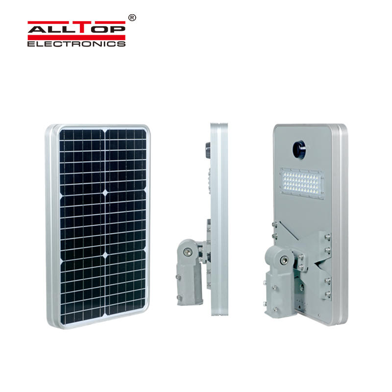 ALLTOP High quality outdoor waterproof lighting ip65 smd 50w 100w 150w 200w all in one led solar streetlight