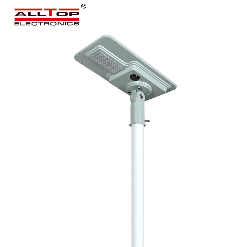 ALLTOP High efficiency outdoor waterproof light control ip65 smd 40w 60w 120w 180w integrated all in one led solar street light