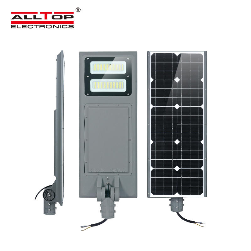 ALLTOP High power waterproof ip65 outdoor smd 100w integrated solar led garden lamp