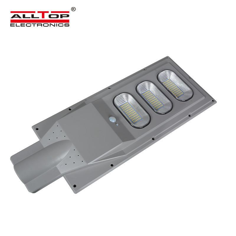 ALLTOP High performance ip65 waterproof 30w 60w 90w sensor LED Solar Street Light