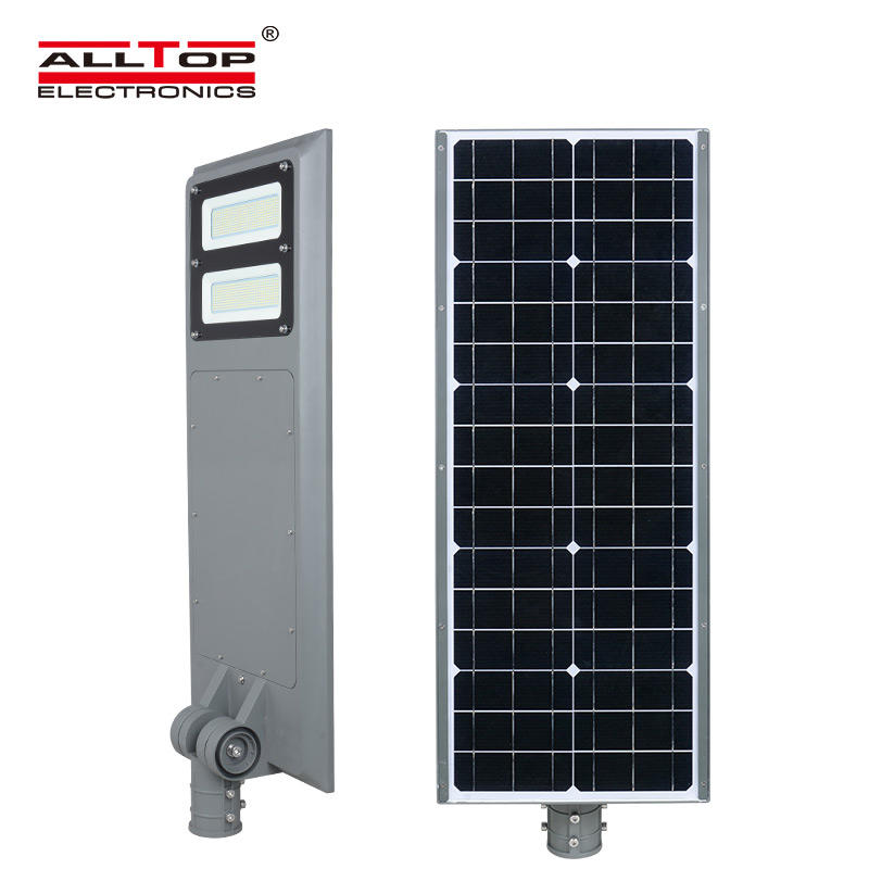ALLTOP High quality portable waterproof ip65 solar panel 40w 60w 100w all in one led solar street light price