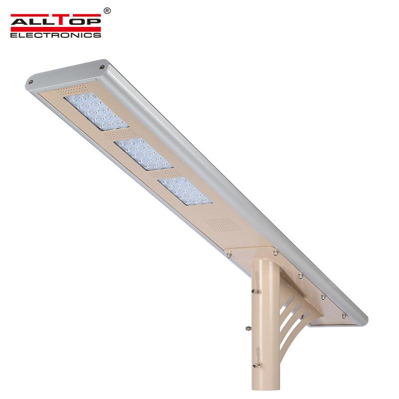 45 watt high lumen bridgelux outdoor ip65 solar led street light