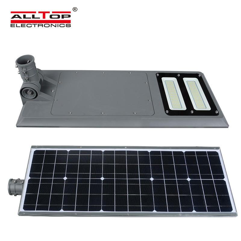 ALLTOP Municipal super brightness ip65 40w 60w 100w all in one led solar street light