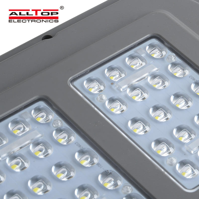 ALLTOPOutdoor Waterproof Rainproof IP65 Street Light 20W 40W 60W Garden LED Solar Light