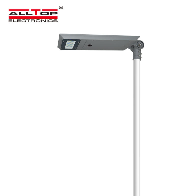 ALLTOP Excellent waterproof ability IP65 outdoor garden 40watt 60watt all in one led solar street light