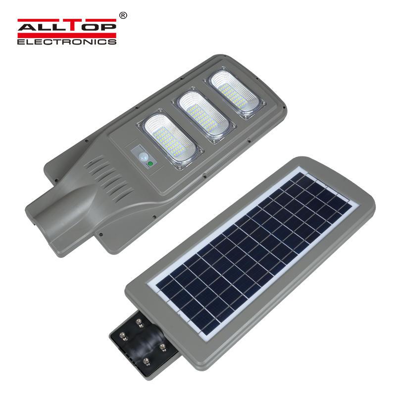 China direct sales 9000 lumens ip65 30w 60w 90w all in one solar led street light