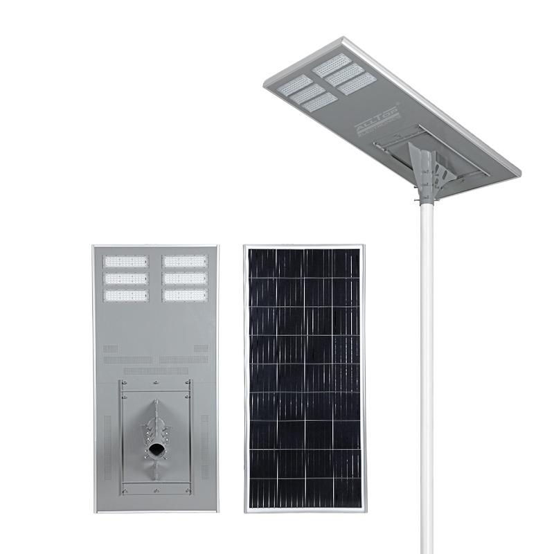 ALLTOP Wholesale new design aluminium ip65 waterproof solar led street light 200w all in one