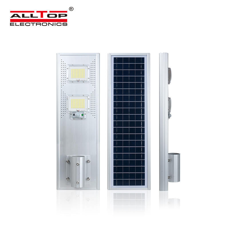 ALLTOP Hot sale competitive energy saving waterproof IP65 all in one 60 120 180 w solar led streetlight