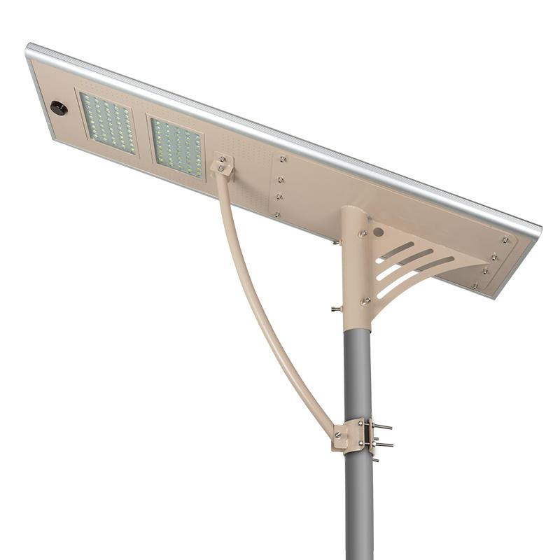 80W Motion sensor Lithium battery motion sensor all in one solar led street light