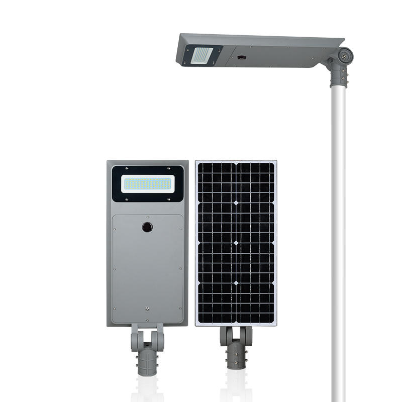 ALLTOP Aluminum housing solar charge IP65 40w 60w 100w all in one solar street lamp