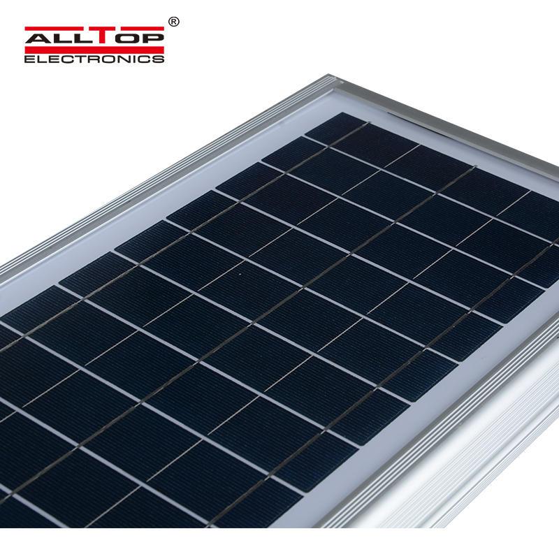 ALLTOP Zhongshan aluminum housing remote controlIP65 60w 120w 180w all in one led solar street light