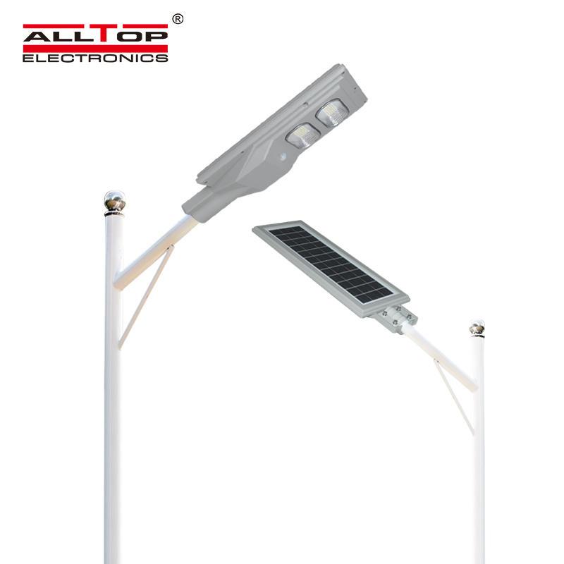 ALLTOP High brightness motion sensor MPPT controller ip65 30w 60w 90w 120w 150w all in one led solar streetlight