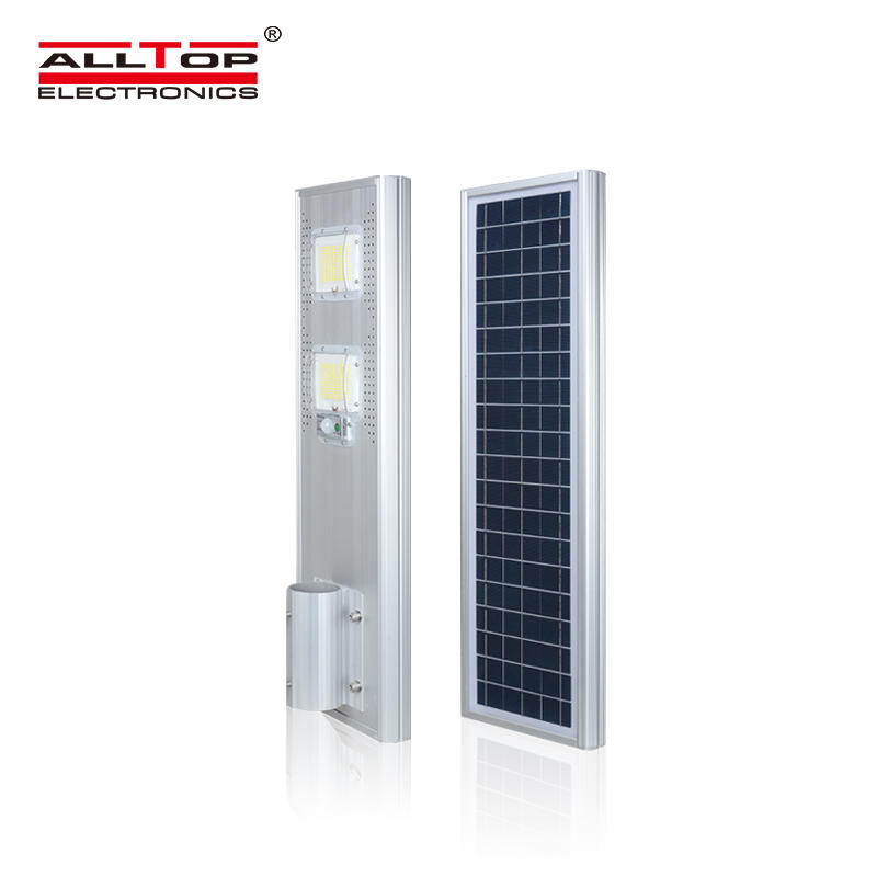 ALLTOP High quality smd waterproof IP65 60w 80w 120w 180w integrated all in one solar led street light