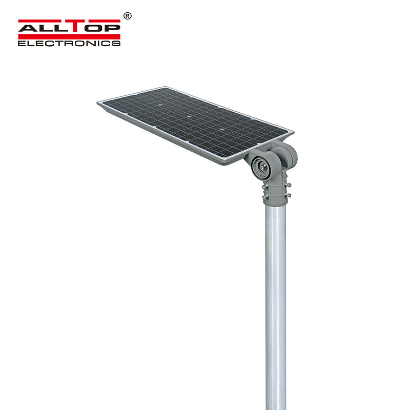 ALLTOP Cheap outdoor lighting fixture aluminium waterproof IP65 100w integrated all in one solar led garden light