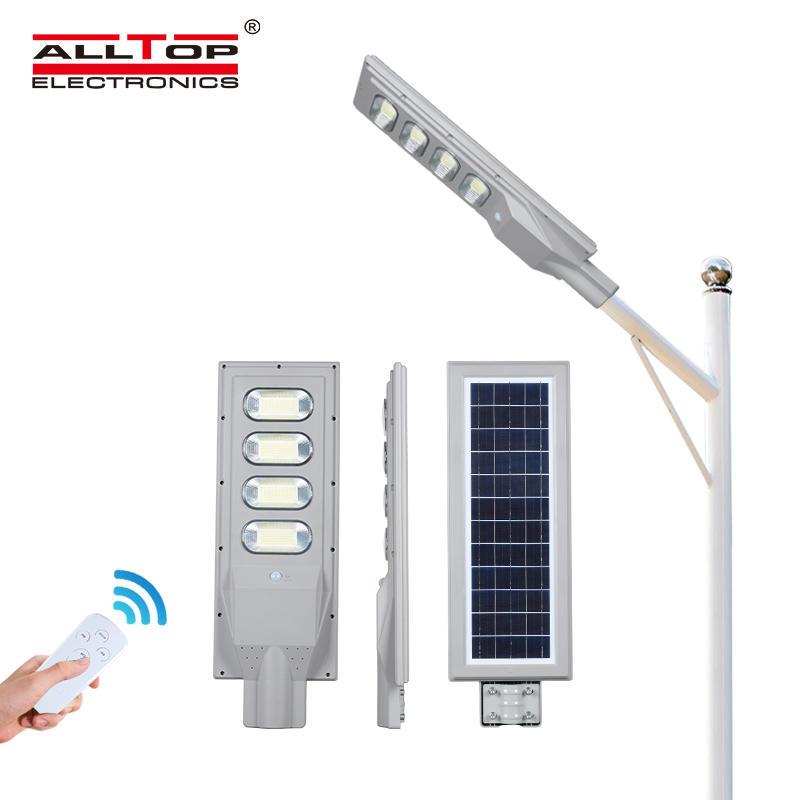 ALLTOP High brightness long life IP65 all in one 30w 60w 90w 120w 150w outdoor highway led solar streetlight