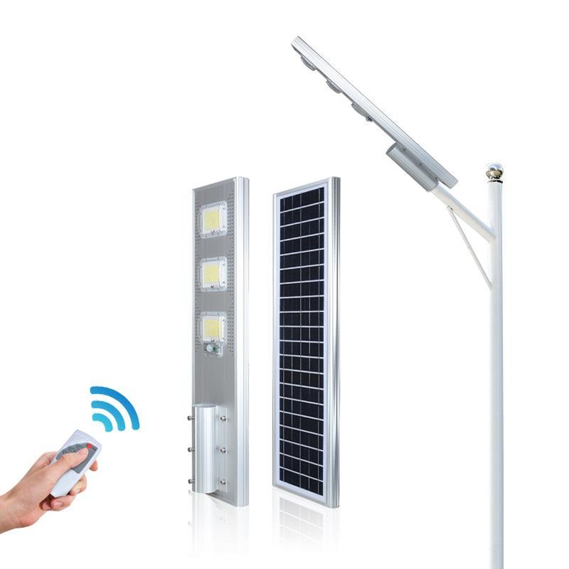 ALLTOP High power die cast aluminum housing ip66 60 120 180 watt all in one led solar street light