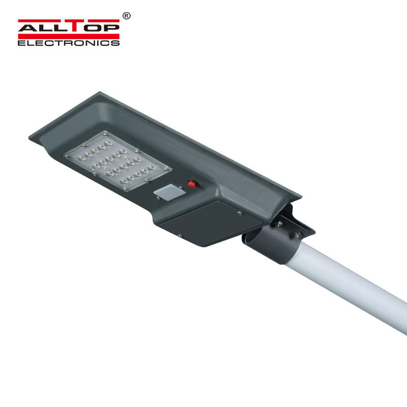 ALLTOP Outdoor IP65 waterproof integrated 20w 40w 60w all in one led solar street lamp
