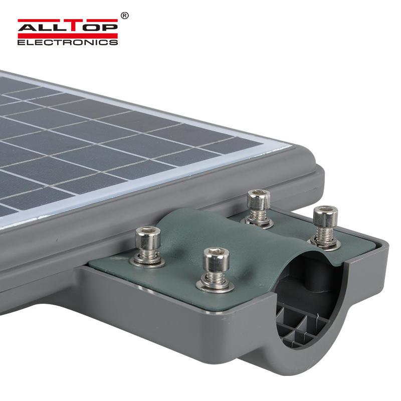 ALLTOP Outdoor IP65 waterproof integrated 20w 40w 60w led solar street lamp