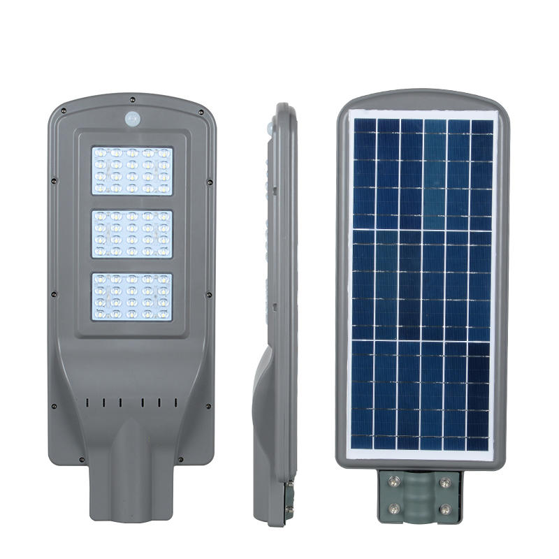 ALLTOP High lumen SMD 20w 40w 60w IP65 outdoor integrated motion sensor all in one solar led street light price
