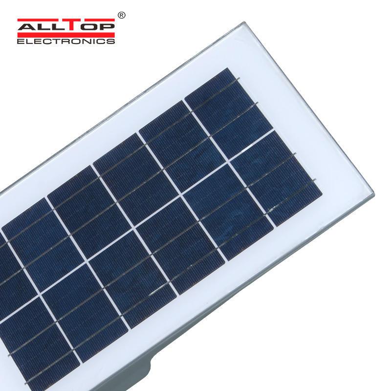 ALLTOP Factory price bangladesh ip65 waterproof 20 40 60 watt outdoor all in one solar led street light