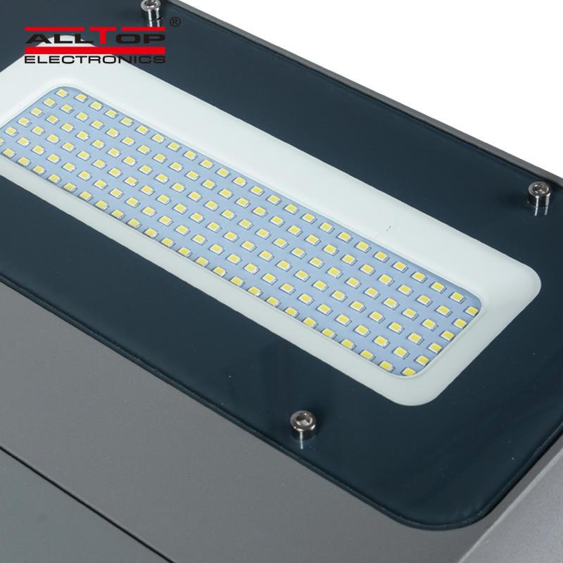 ALLTOP Outdoor Adjustable angle 30w 40w 60w integrated aluminum led solar street light