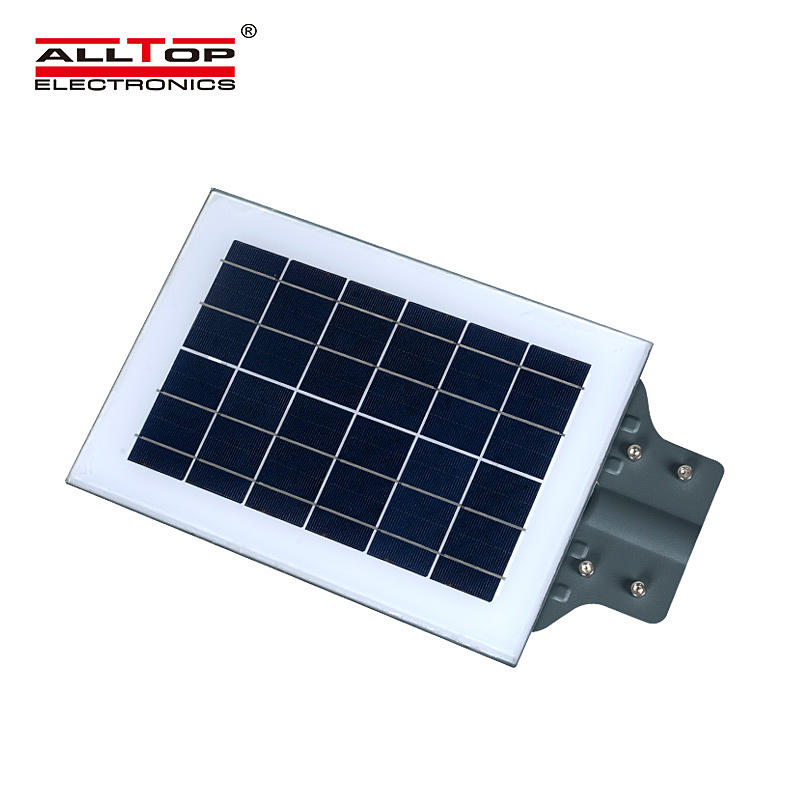 ALLTOP Energy saving model SMD waterproof ip65 outdoor all in one led solar street light price
