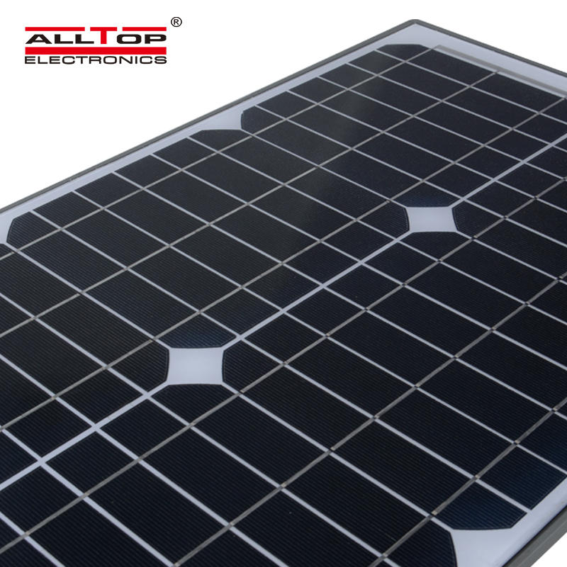 ALLTOP Super brightness die casting aluminum body ip65 40w 60w 100w all in one solar street light