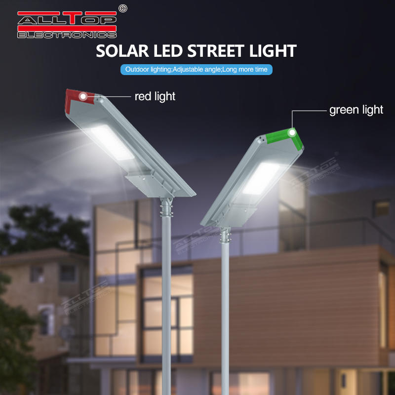 ALLTOP High brightness 18v outdoor lighting waterproof 150w integrated all in one led solar street light