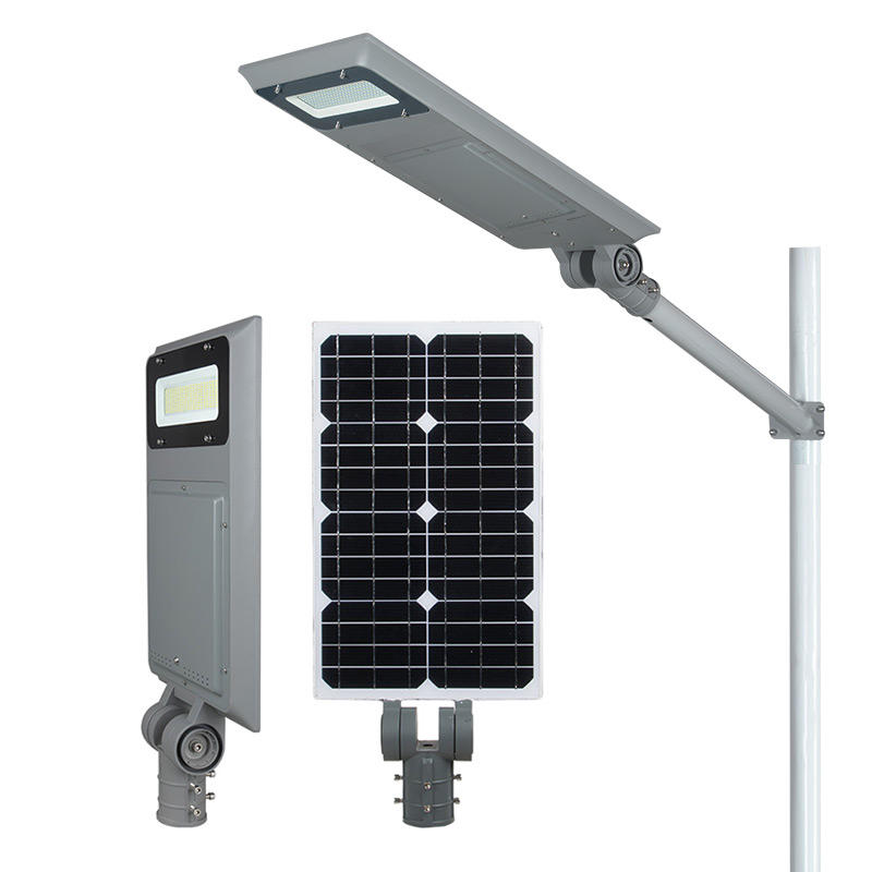 ALLTOP 40 60 100 watt waterproof ip65 integrated all in one led solar energy power street lighting system