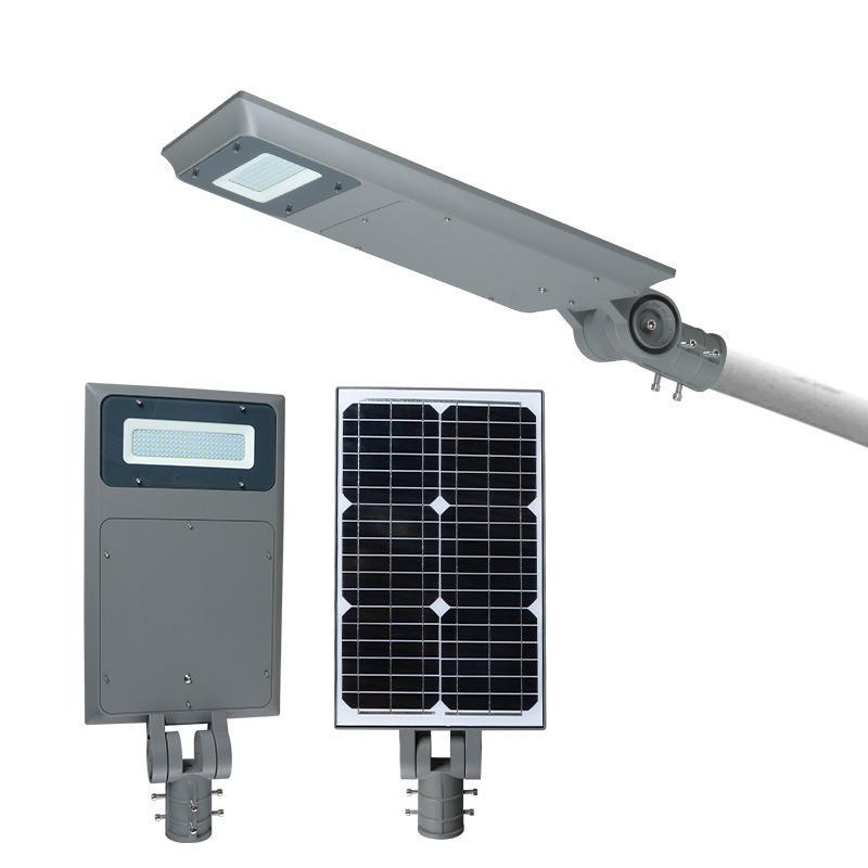 ALLTOP Solar power aluminum waterproof outdoor 40 50 watt all in one solar led street light