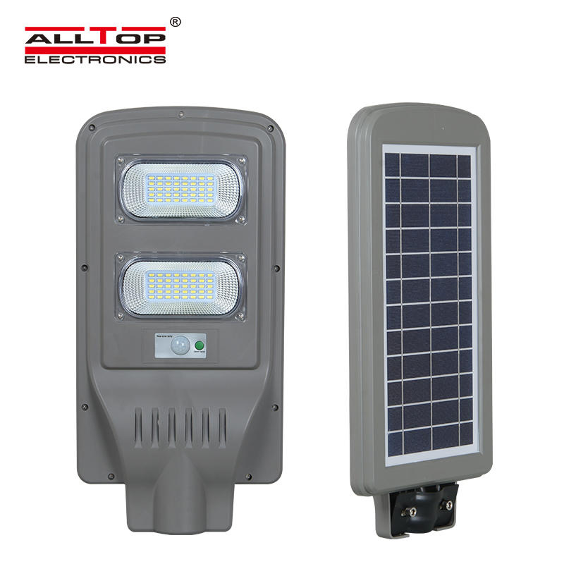 30 60 90 w intergrated waterproof ip65 outdoor all in one solar led street light price