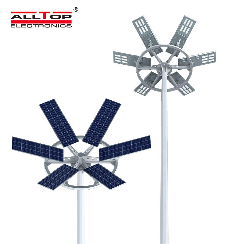 ALLTOP High quality aluminum outdoor lighting ip65 smd 200w integrated all in one led solar garden light