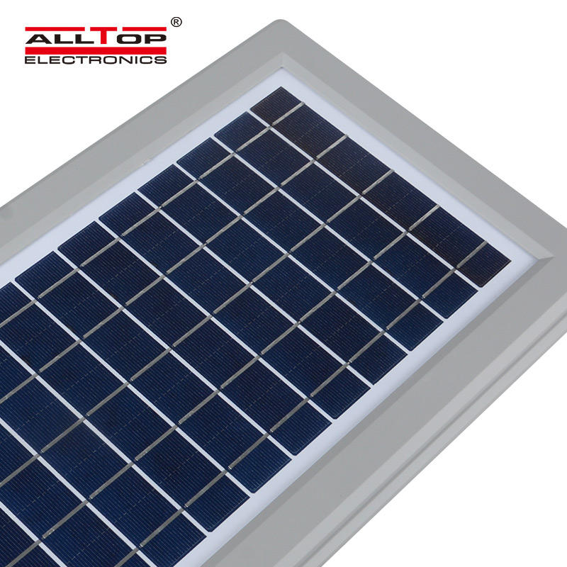 ALLTOP bridgelux outdoor waterproof IP65 30w 60w 90w integrated all in one solar led streetlight