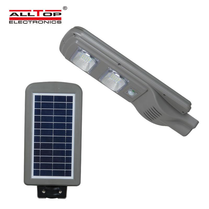 Energy saving outdoor all in one 30 60 90 watt solar power led street lighting system